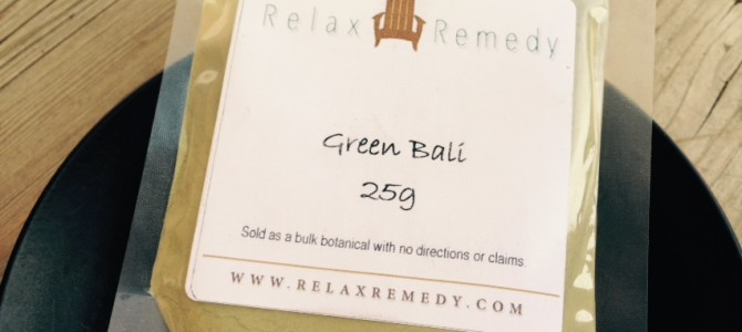 Relax Remedy Green Bali Kratom Review