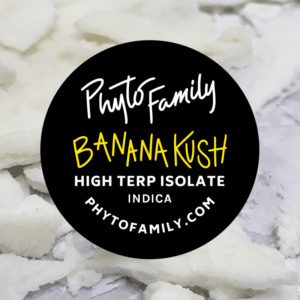 99% High Terpene Isolate - Banana Kush